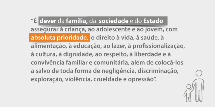 Cartaz descreve: